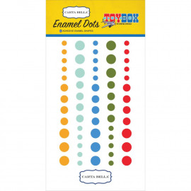 Toy Box Enamel Dots 60/Pkg