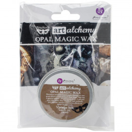 Finnabair Art Alchemy Opal Magic Wax .68 Fluid Ounce Vintage Silk