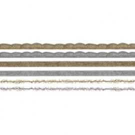 Idea-Ology Metallic Trimmings 1yd 6/Pkg