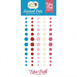 Echo Park Alice In Wonderland Enamel Adhesive Dots 60/Pc