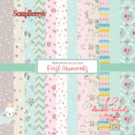 ScrapBerry's First Moments Paper Pack 6