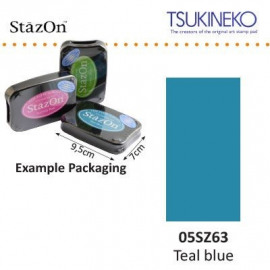 Stazon inkpad teal blue
