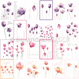 ALEXANDRA RENKE - MIXED TULIPS - FLOWER PAPER