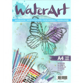 WATER ART A4 Aquarelpapier 20 vellen