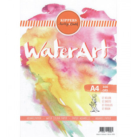 Aquarel Papier 12 sheets - A4