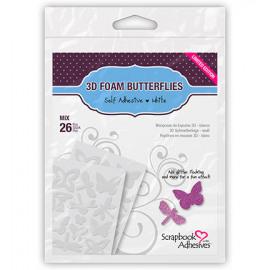 3D foam butterflies