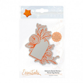 DELICATE DETAIL - FLORAL TAG