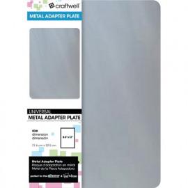 METAL ADAPTER PLATE   21.6 X 30.5 CM