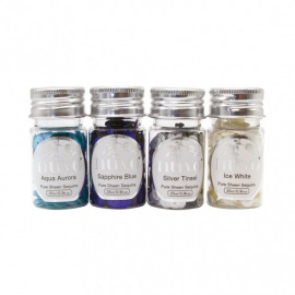 NUVO Pure Sheen sequins let it snow