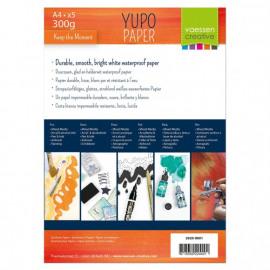 Vaessen Creative • Yupo papier wit A4 300g x5