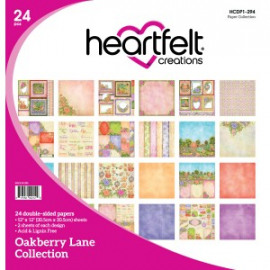 Oakberry Lane, 12 Designs/2 Each 12x12