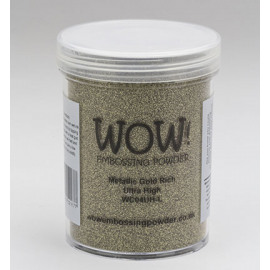 Embossing powder Metallic gold rich Ultra High