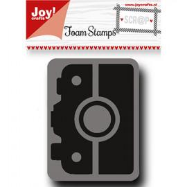 Foam stamp camera