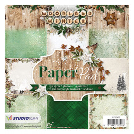 Woodland winter Paper Pad 55