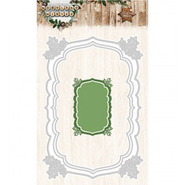 Woodland winter cutting and embossing 51