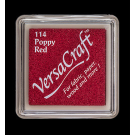 VersaCraft Small Inkpad-Poppy red