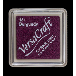 VersaCraft Small Inkpad-Burgundy