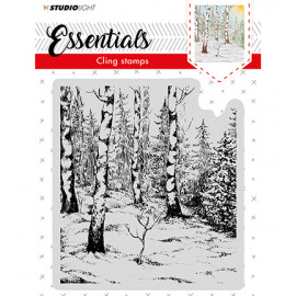 Cling Stamp Essentials, Christmas, nr.01