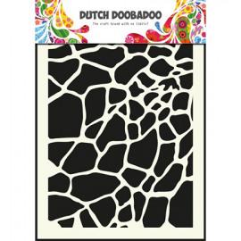 Dutch Mask Art A5 Giraffe