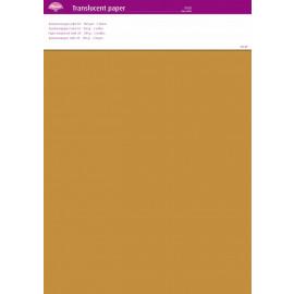 Translucent paper Gold