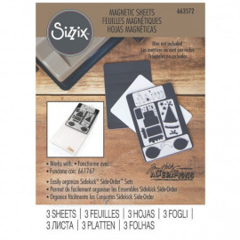 Sizzix • Accessory magnetic sheets x3