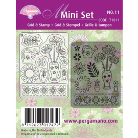 Mini Set Grid & Stamp 11