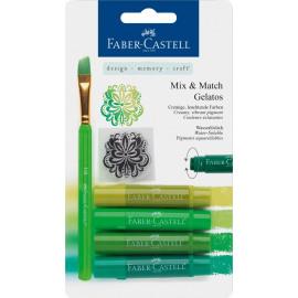 Mix & Match Gelatos & Clear Stamp Set Green