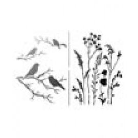 Gräser+Vögel