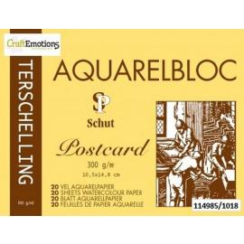 AQUARELBLOC POSTCARD 10.5X14.8CM