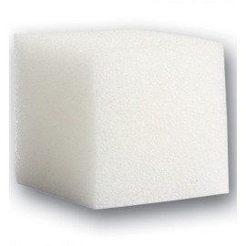 Vierkante zachte sponsjes 4 x 4 x 4cm