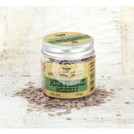 Mica flakes Mulberry