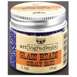 Prima Glass beads - Cobalt blue