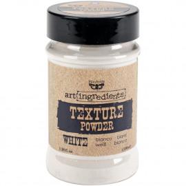 Texture powder white