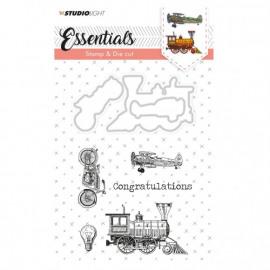 Studio Light stamp & die cut A6 Essentials nr.14