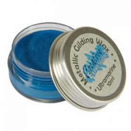 Metallic gilding wax Ultramarine