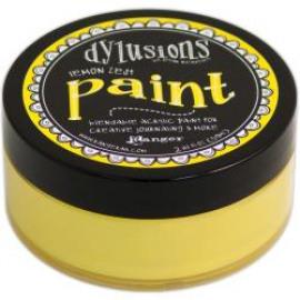 Dylusions paint Lemon Zest