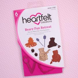 Craft dies Beary Fun Retreat