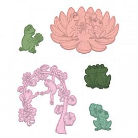 Craft Dies - Flirting Frogs