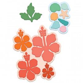 Craft Dies - Tropical Hibiscus