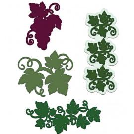 Craft Dies - Italiana Grapevines