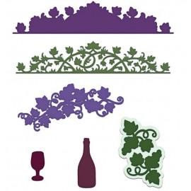 Craft Dies - Italiana Grape Clusters