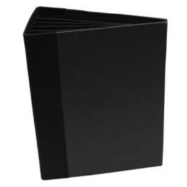 3D Flip Fold Album Black