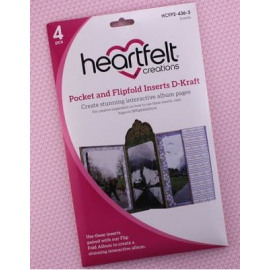 Pocket and Flipfold Inserts D - Kraft