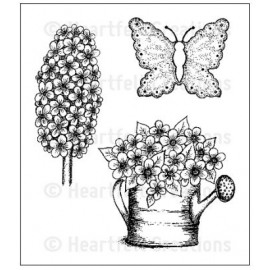 Cling Stamp - Posy Patch Garden Delights