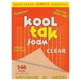Foam pads - clear
