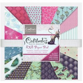 Catitudes 8x8 paper pad