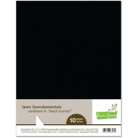 Cardstock in Black Licorice