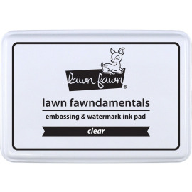 EMBOSSING AND WATERMARK INK PAD - CLEAR