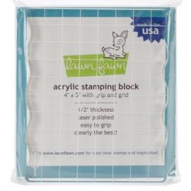 Acrylic Stamping Block 4