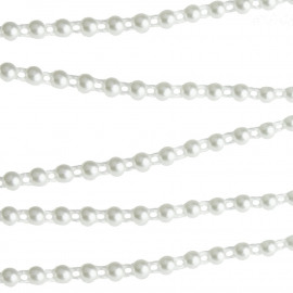 FLAT BACK IVORY PEARL STRING - ?